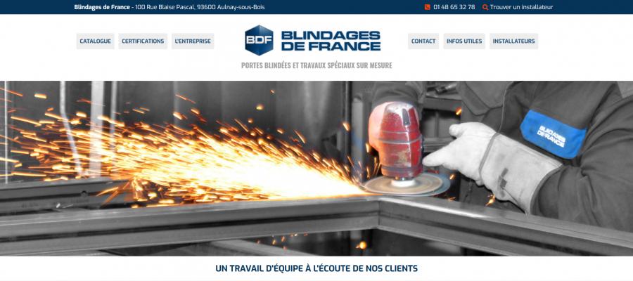 Refonte site web BDF