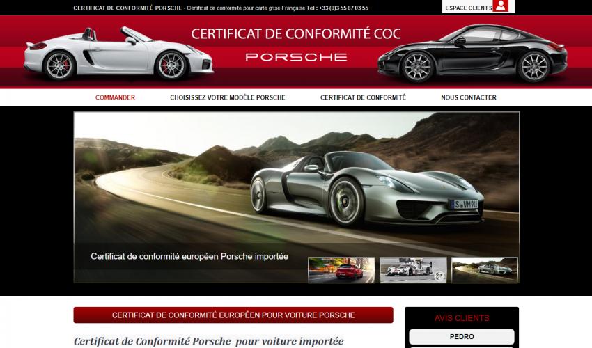 COC Porsche