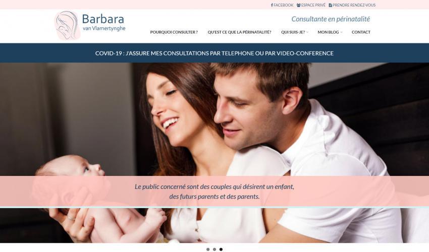 Site web Barbara van Vlamertynghe