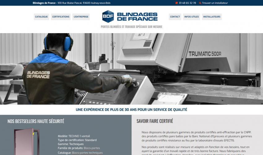 Site web BDF