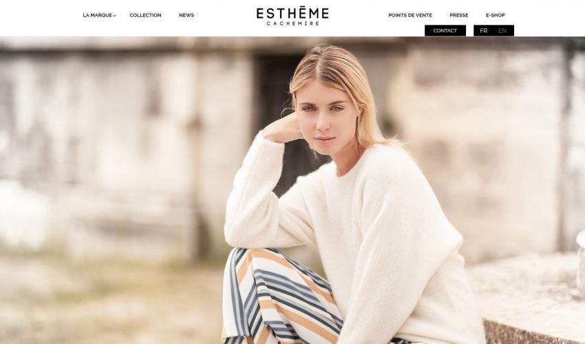 Site web Estheme Cachemire