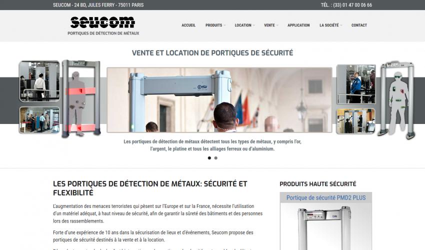 Site web SEUCOM