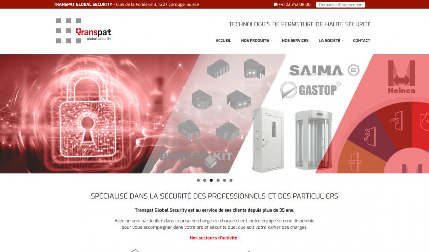 Site web Transpat